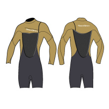 Seaskin 3/2mm Adult Men Shorty Spring Wetsuit