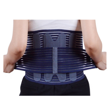 Lumbar disc strain hot press belt
