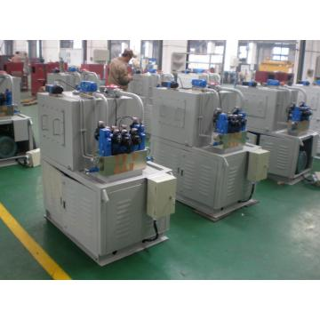 Hydraulic system of high standard garbage compression device