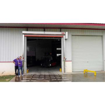 Industrial PVC Roll up door speed speed