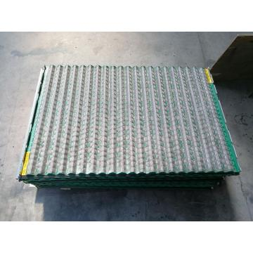 Derrick Corrugated oil Screens