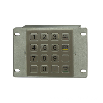 PCI 3DES Encrypted Pin Pad for Payment Kiosk