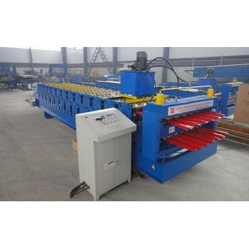 Double Layer IBR Roofing Making Machine