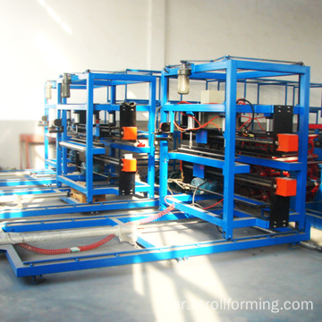 EPS and rockwool sandwich panel roll forming production line