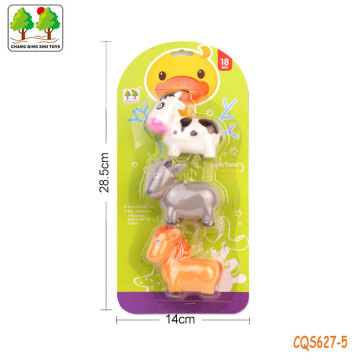 CQS627-5 CQS soft animals 3PCS with BB sound