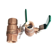 Casting LG2 bronze ball valve full port