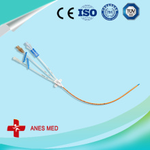Triple Lumen antimicrobial central venous catheter
