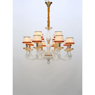 Modern New Creative Elegant Study Room White Chandelier