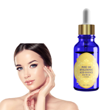 Powerful 100% Pure Hyaluronic Acid Face Serum 30ml private label MOQ 300 pcs