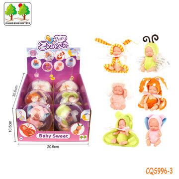 CQS996-3 CQS Sleeping baby 6 mixed/display box