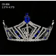 Hot Fashion Full Round Pageant Crowns And Tiaras