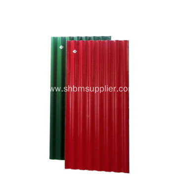 Anti-Typhoon Fireproof Heat-insulating PET MgO Roof Sheets
