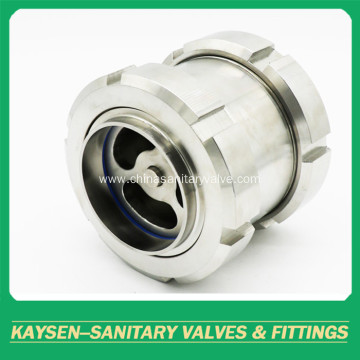 SMS Hygienic Non Return Valves Union Type Welded