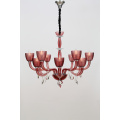 Indoor Living Room Delicate Restaurant Wine Red Chandelier