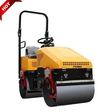 Spain Popular 1 Ton Small Tandem Vibratory Roller