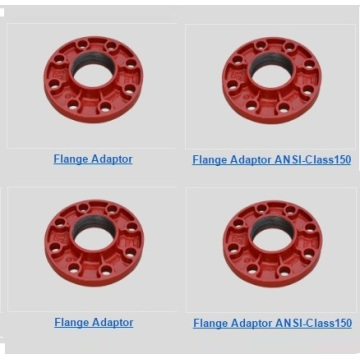 Ductile Iron Grooved Flange Adaptor