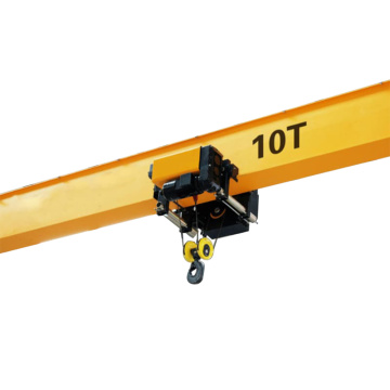 European design 25t single beam bridge crane