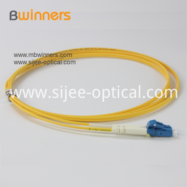 Lc Upc Dx Sm Fiber Optic Pigtail