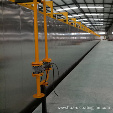 Automatic Adjustable Temperature Hanging Spray Type Pre-treatment Coating Line