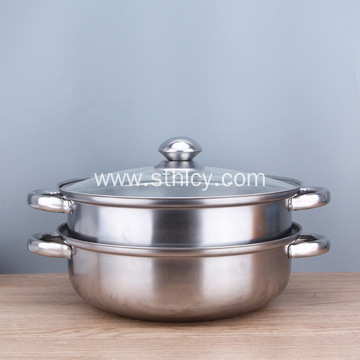 Thicken Stainless Steel Soup Pails Steamer