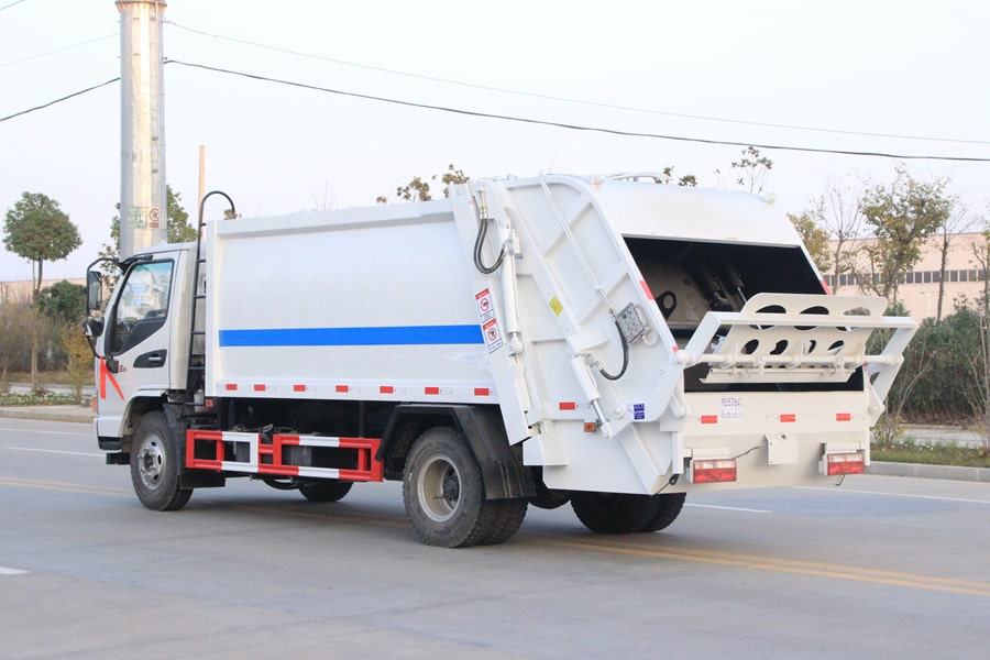 Waste Collection Truck Pictures
