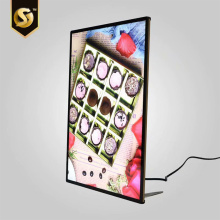 Outdoor advertising Aluminium magnetic led light box