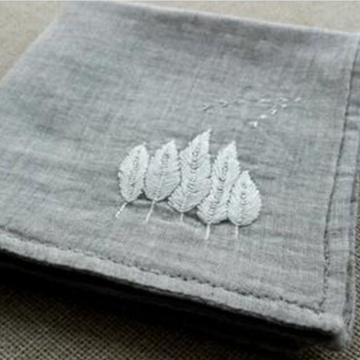 The wheat hand handkerchief embroidery DIY gift
