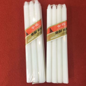Soy Wax Home Decoration Use White Stick Candle