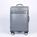 Fashion material new arrival PU travel trolley luggage