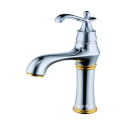 Single handle basin sink faucet brass