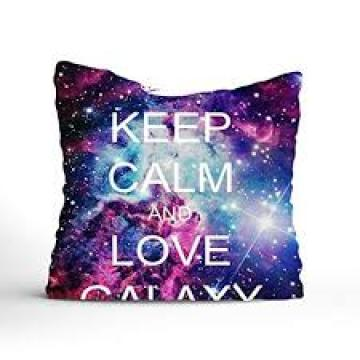 Zippered Pillow Cover Fashion Stylish Galaxy Pattern