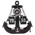 Anchor Flip Clock for Table