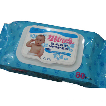 Refreshing Gently Cleaning Tissue Baby Wet Wipes