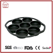 Round Vegetable Oil Cast Iron Muffin Pans