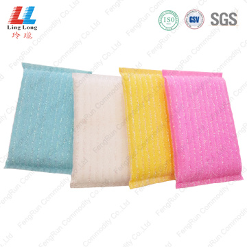 Graceful soft foaming kitchen sponge