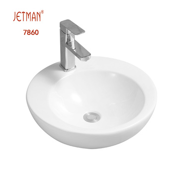 round ceramic sink Counter Ceramic Art Basin