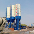 Wet stationary HZS25 ready mixed concrete mixing plant