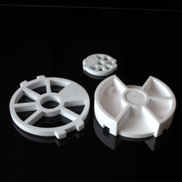 Engineered Wear Resistant Al2O3 Alumina Ceramic Valve Parts
