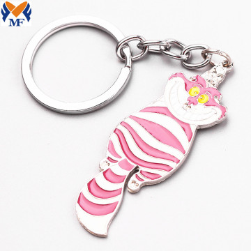 Metal Custom Animal Keychain With Your Design