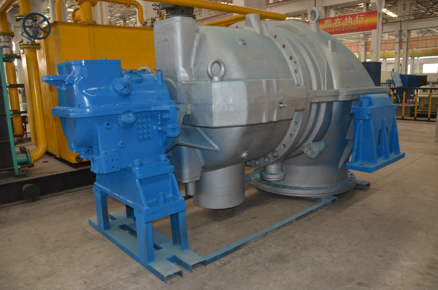 Steam Condensing Extraction Turbine