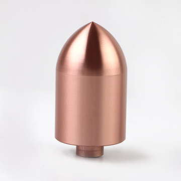 Speaker accessories Rose golden Aluminum bullet