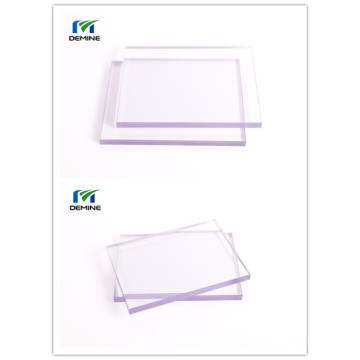 Plastic roofing sheet clear polycarbonate plate