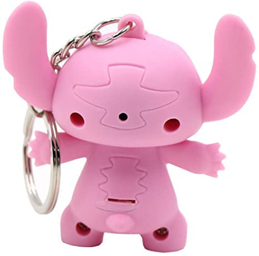 Cartoon Modeling Keychain