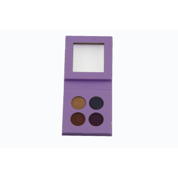 Small Size Purple Cardboard Palette with Clear Window