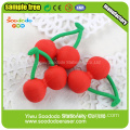 Attractive Cherry Shaped Eraser Fruit Series Erasers