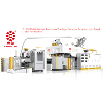 New Automatic Swing Arm Stretch Film Machine