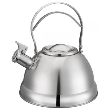 Stainless Steel Hollow Out Handle Tea Pot