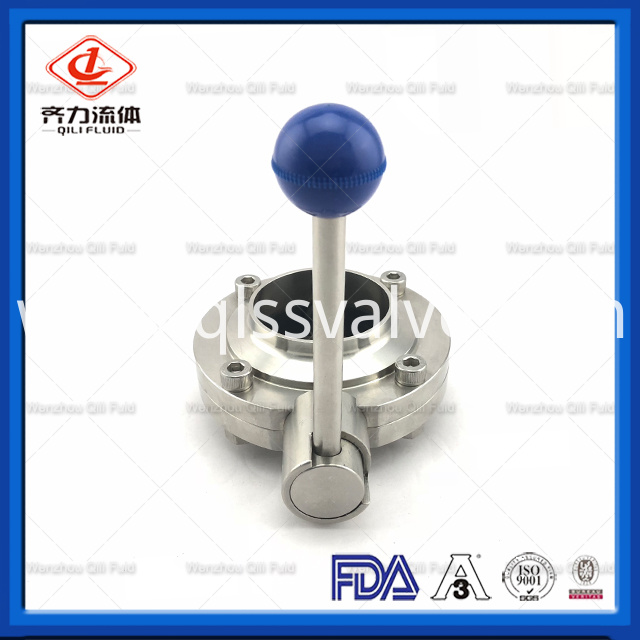 Sanitary Stainless Steel Butterfly Valve 31
