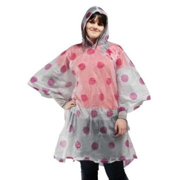 full printing pvc raincoat poncho