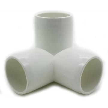 3 Way Tee PVC Fitting